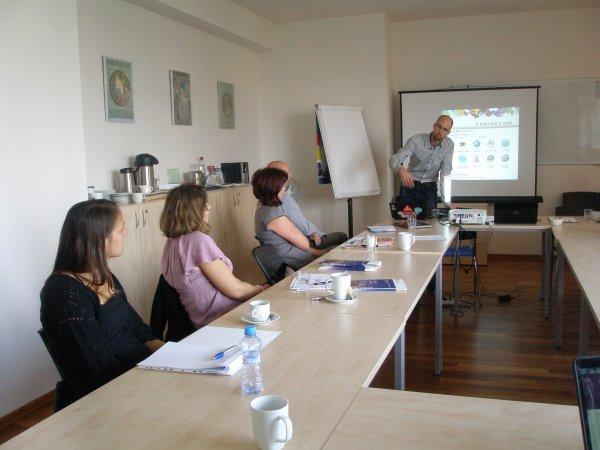 """Workshop """"Digitální technologie v podnikovém vzdělávání"""" září 2014"""