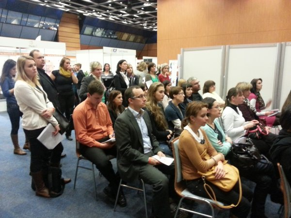 Publikum při prezentaci o age managementu
