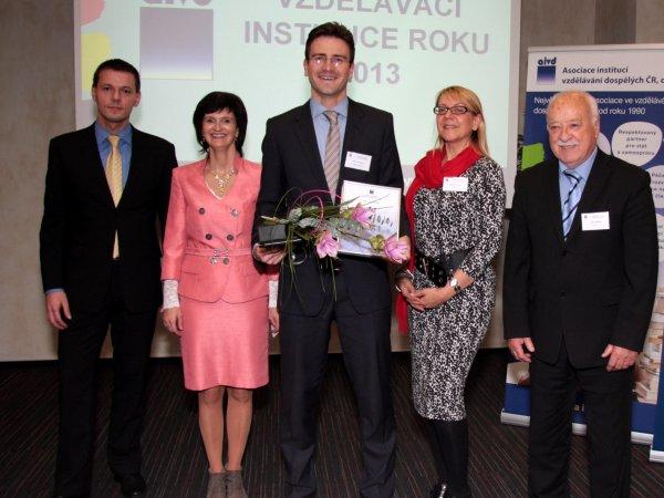 Vítěz s vedením AIVD ČR