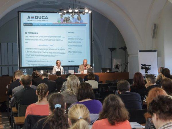 Hlavní konference AEDUCA 2013