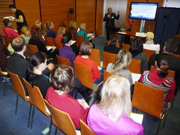 Prezentace Ing. Kazíka na téma kvality lektorské práce
