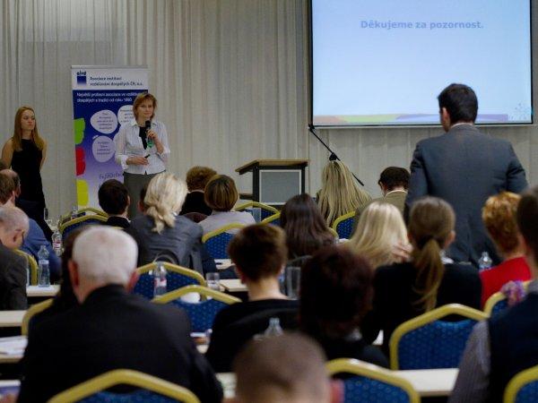 Diskuse nad příspěvkem Mgr. Marie Váňové ze společnosti DANONE