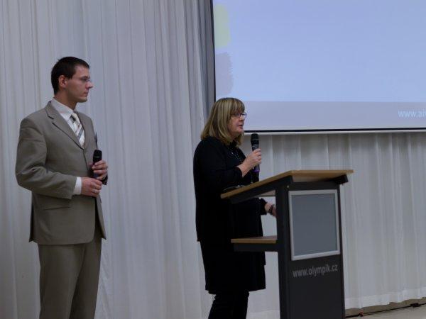Slovo předsedkyně odborné komise soutěže Vzdělávací instituce roku 2012 PhDr. Evy Síkorové