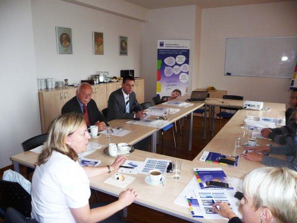 Diskuse s představiteli asociace