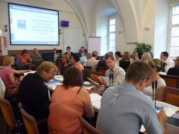 Systém dalšího vzdělávání a jeho podpora strukturálními fondy