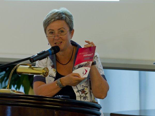 Příspěvek vedoucí expertního týmu projektu AIVD ČR Prof. PhDr. Milady Rabušicové, Dr.